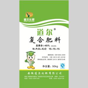 道尔45%含氯复合肥(15-15-15)