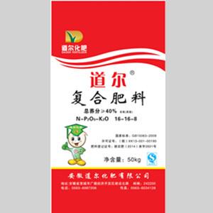 道尔40%含氯复合肥料(16-16-8)