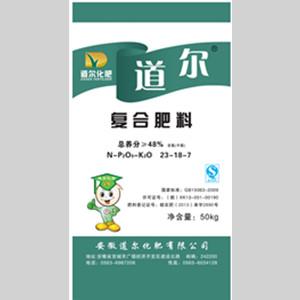 道尔48%含氯复合肥料(23-18-7)
