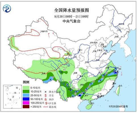江南西部贵州南部强降雨减弱