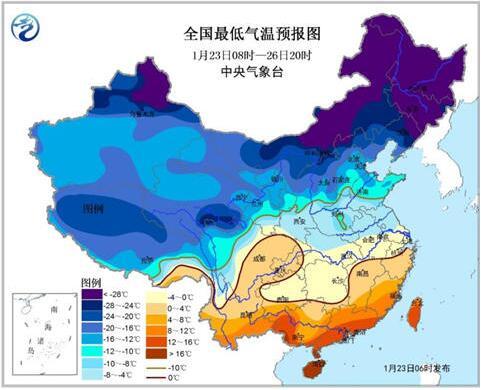 寒潮预警:局地降温12℃