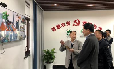 中共慈溪市委书记高庆丰考察坎墩新型庄稼医院