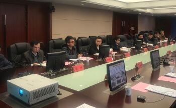 中农在线参加2019年春季农业与气象防灾减灾联合会商会议