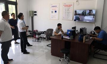 桐庐县领导一行赴中农在线调研新型庄稼医院项目