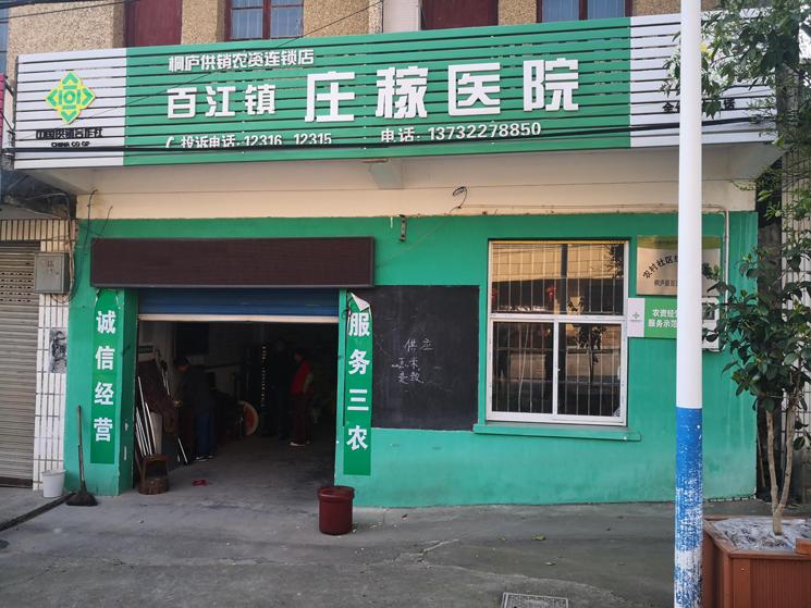 百江镇新型庄稼医院